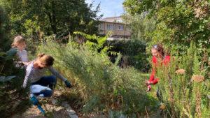 Foto vom Eltern-Kind-Bautag 2020